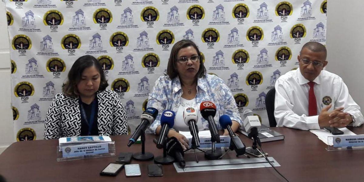 Yanina Muñoz de Aparicio, fiscal de Panamá.