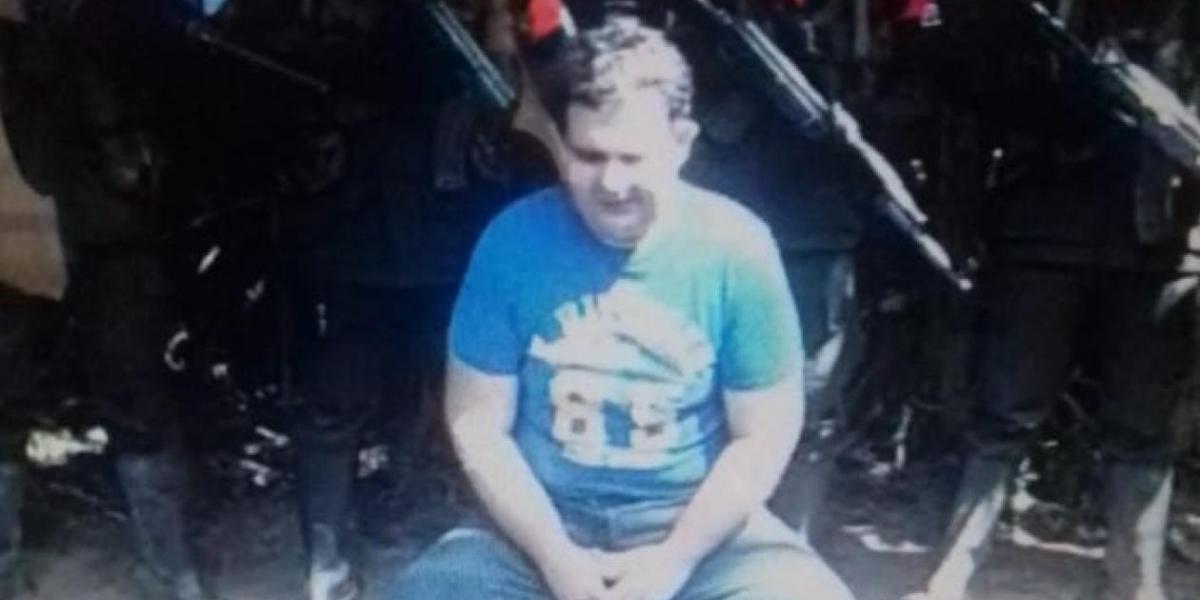 José Leonardo Ataya, gerente de la Empresa de Servicios Públicos de Arauca (Emserpa), que está secuestrado.