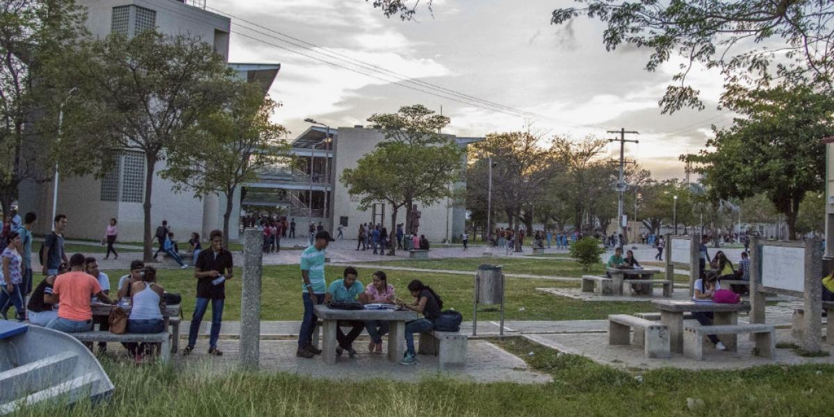 Campus principal de la Universidad del Magdalena.