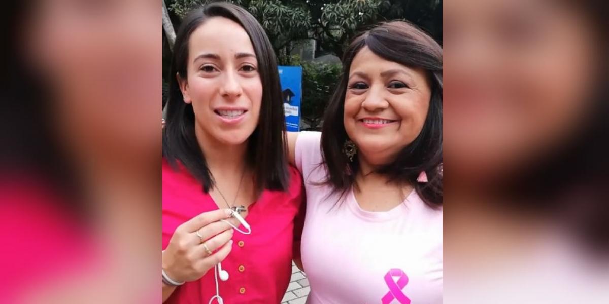 Mariana Pajón y Gloria Ruíz.
