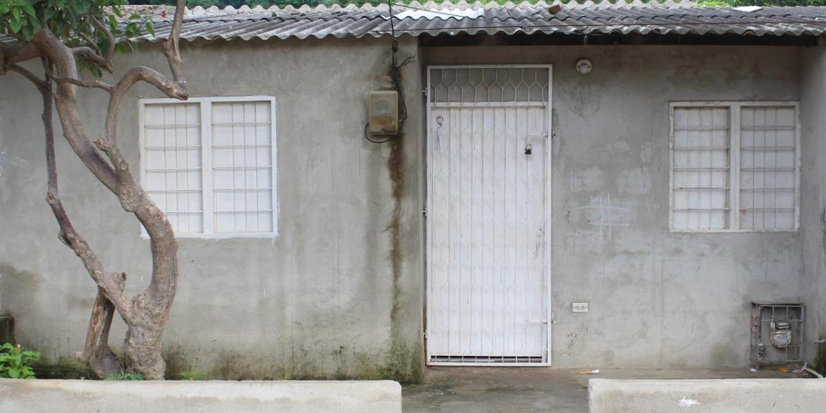 Así se vería la vivienda antes de la jornada.