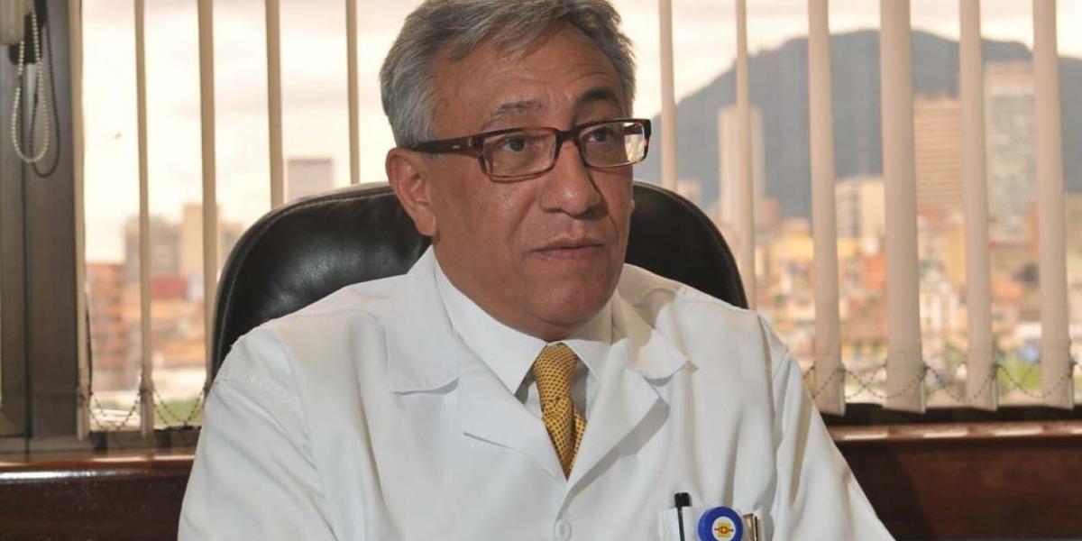 Carlos Valdés, director de Medicina Legal.