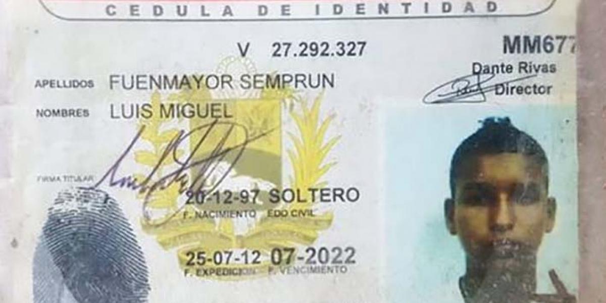 Esta es la persona desaparecida en el río Aracataca.