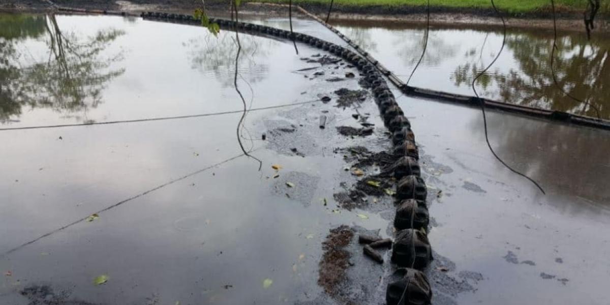 Derrame de petróleo en Tibú.