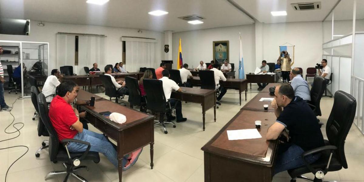 Recinto del Concejo de Santa Marta.