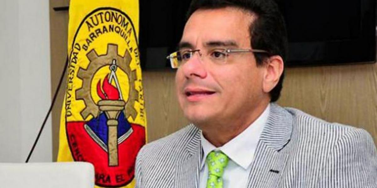 El exrector de Uniautónoma, Ramsés Vargas.