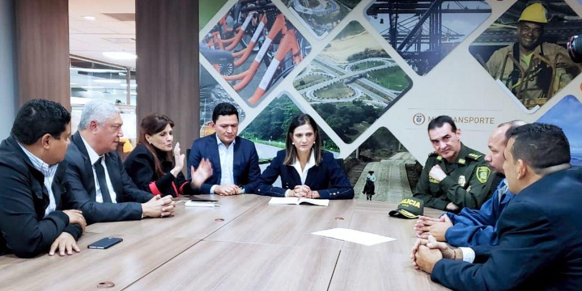 La reunión se cumplió en Bogotá.