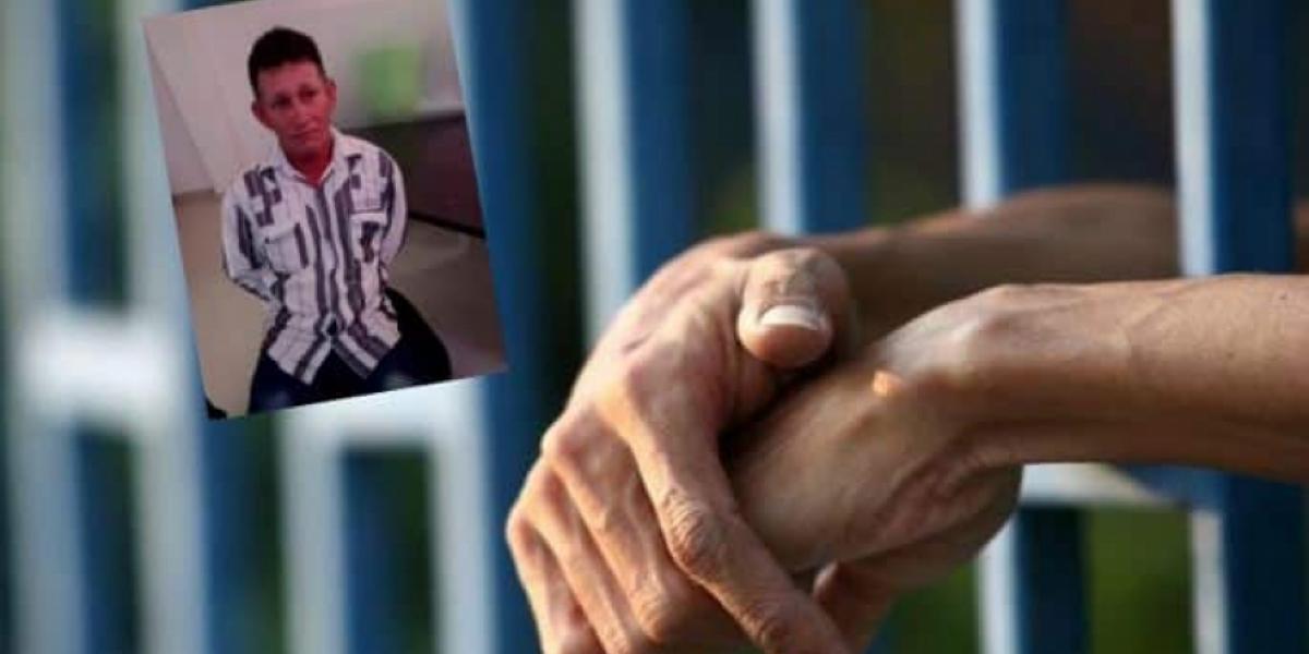 Ramón Echeverría Castaño, de 45 años, estaba detenido en una cárcel en Puerto Berrío, Antioquia.