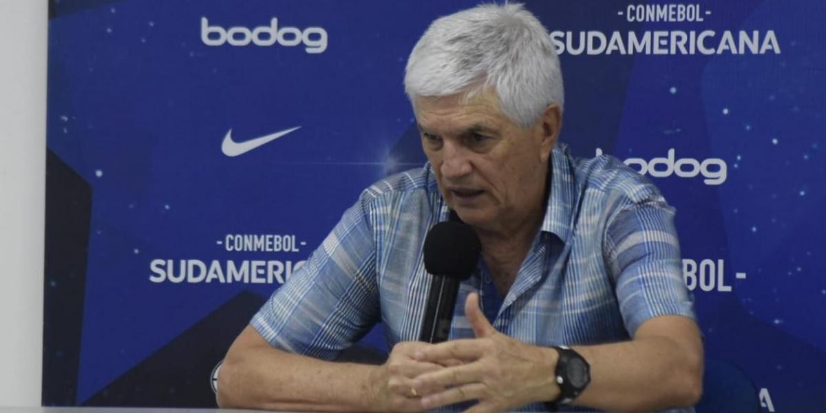 El timonel del cuadro costeño analizó el empate de sus dirigidos ante los brasileños.