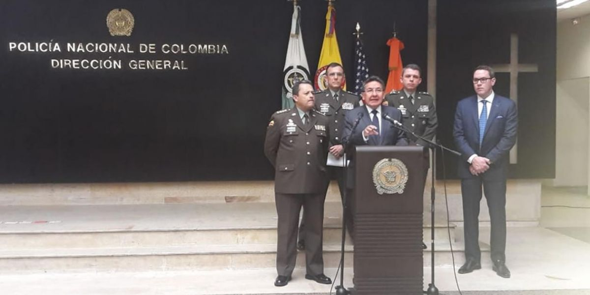 Fiscal general, Néstor Humberto Martínez.