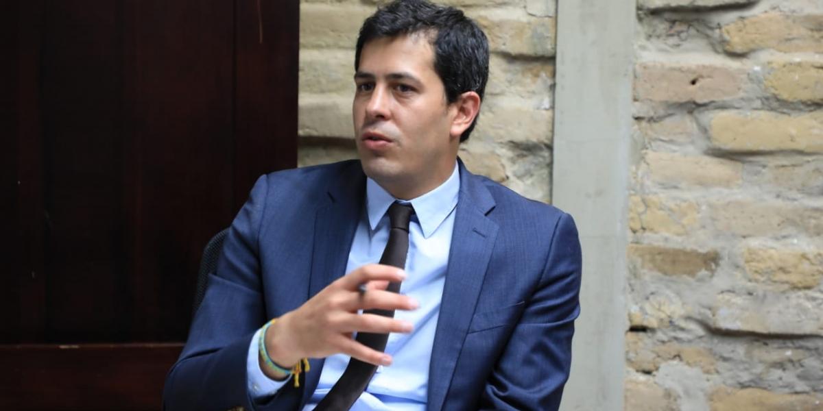 Viceministro de Agua y Saneamiento Básico, José Luis Acero.
