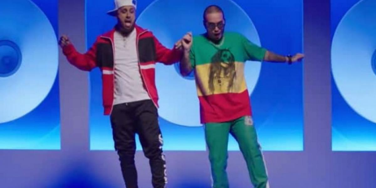 Captura de video ´X´ Jbalvin y Nicky Jam
