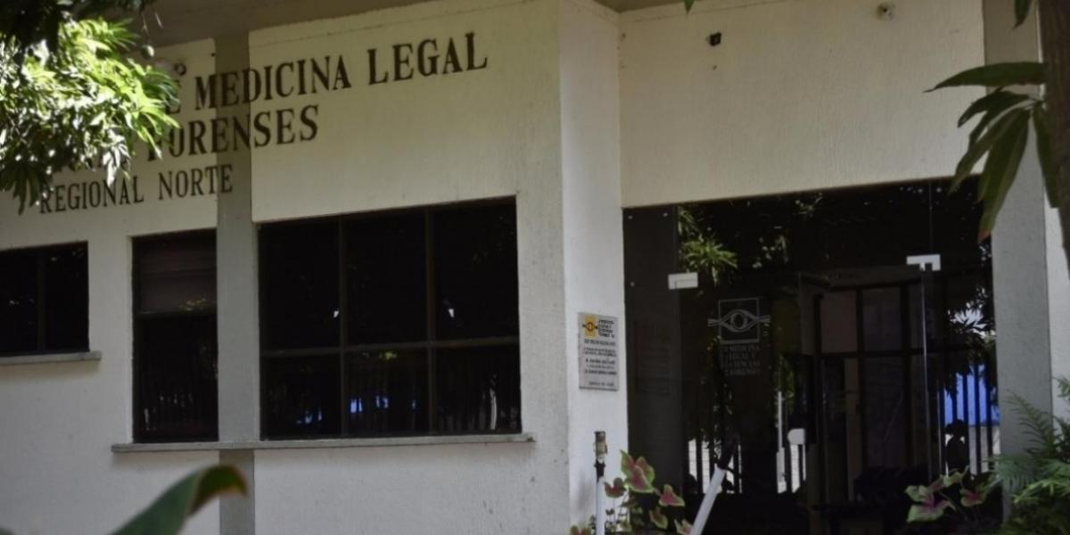 Medicina Legal, sede en Barranquilla.