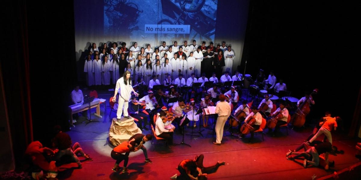 Durante tres días, la alegría y los cantos, convirtieron a Santa Marta en la capital de la música coral.