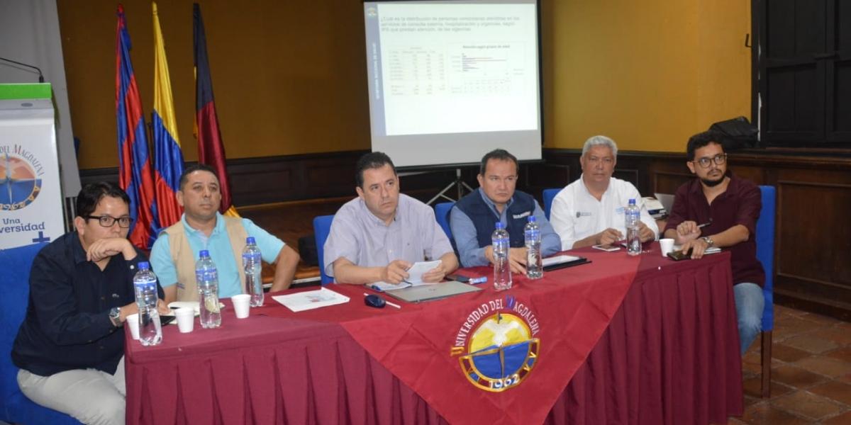 En la mañana de este miércoles se llevó a cabo la instalación  de la Mesa de Coordinación Migratoria en Santa Marta.
