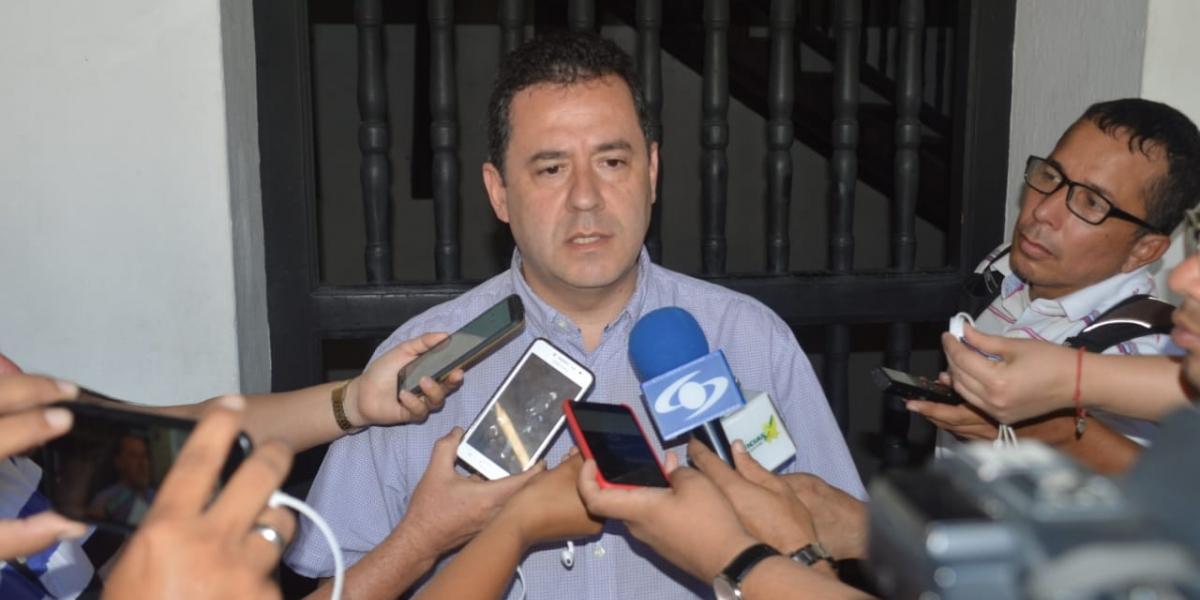 Felipe Muñoz, gerente de Frontera con Venezuela de Presidencia.