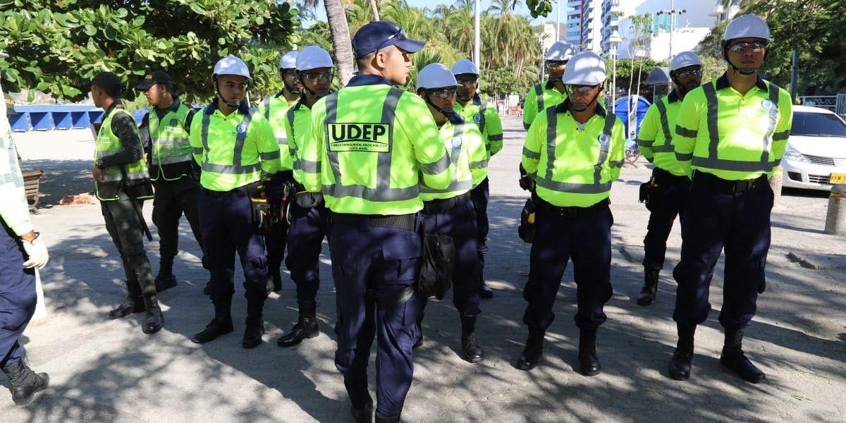 La Udep continuará con controles en otros puntos de la ciudad.