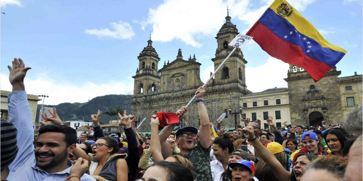 Venezolanos en Colombia.