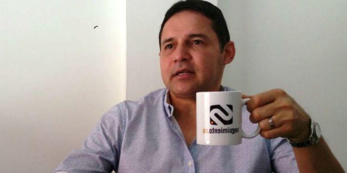 Honorio Henríquez, senador del Centro Democrático.