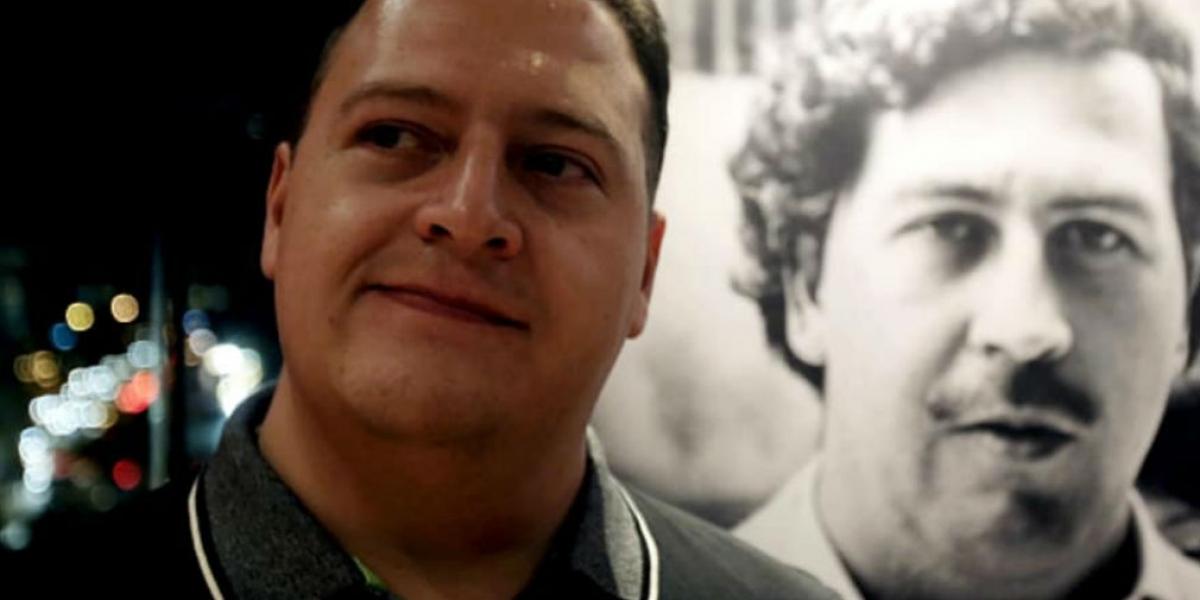 Juan Pablo Escobar, hijo del narcotraficante.