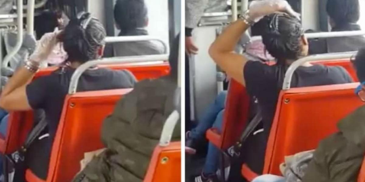 Imágenes tomadas del video.