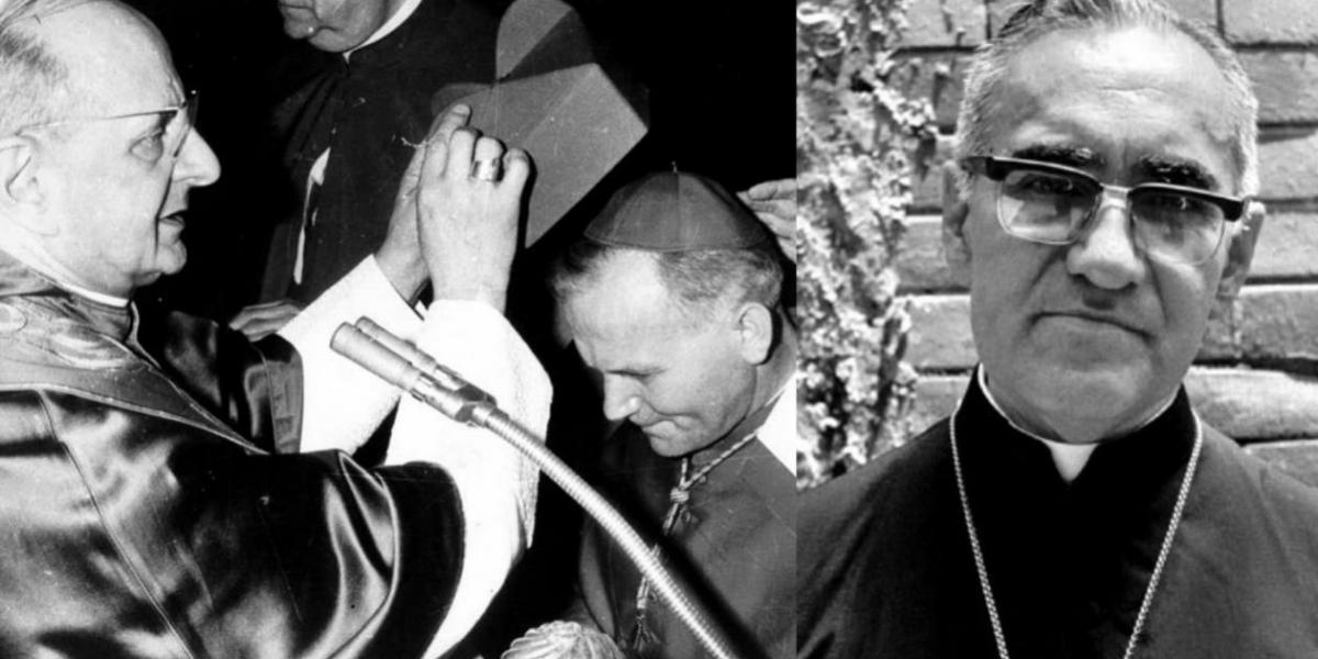 El Papa Pablo Vi y el arzobispo Arnulfo Romero serán canonizados.