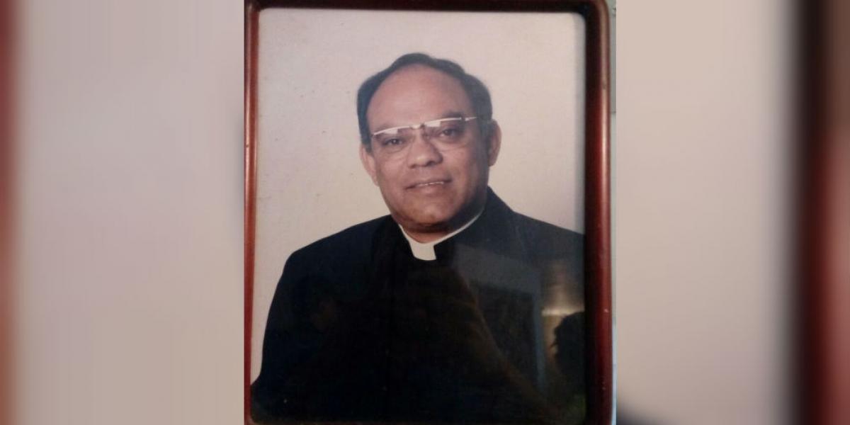 Dagoberto Noguera Avendaño, sacerdote asesinado.