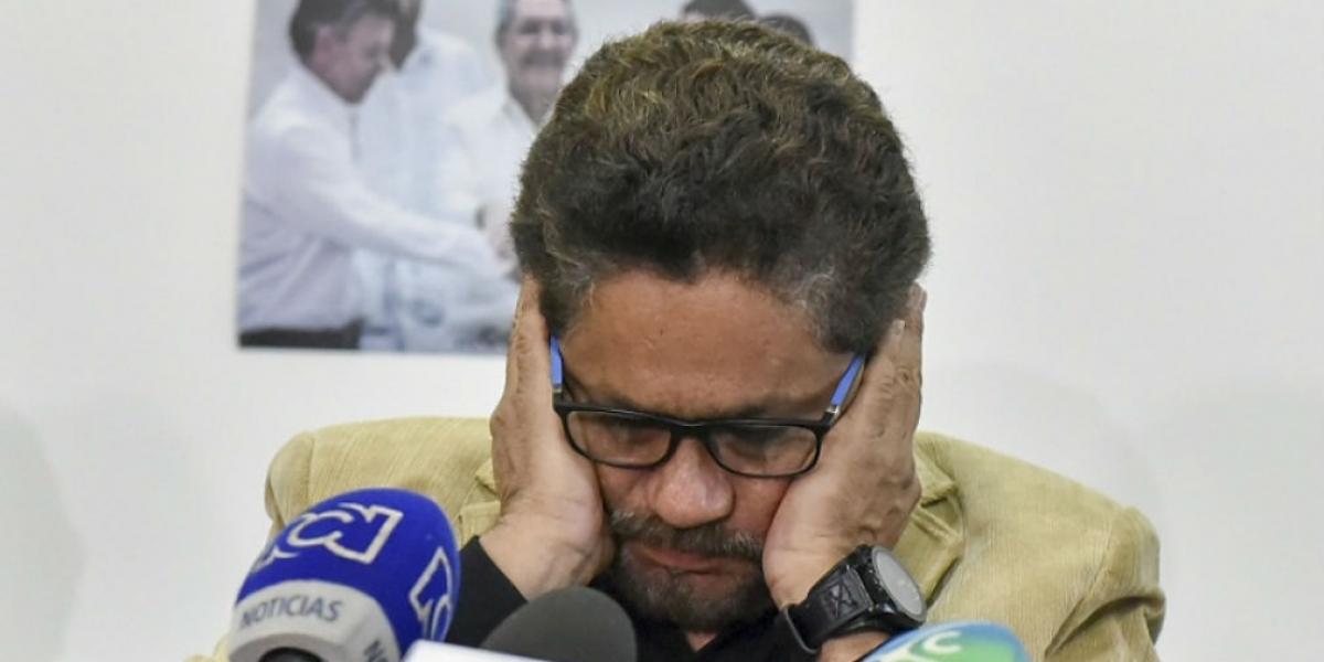 Iván Márquez, quien tendrá una curul en el senado debido a lo estipulado en los Acuerdos de Paz.