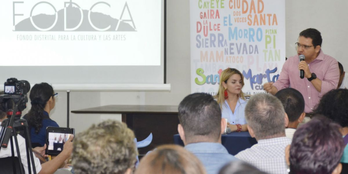 La gestión se realizó través del Fondo Distrital para la Cultura y las Artes (FODCA)