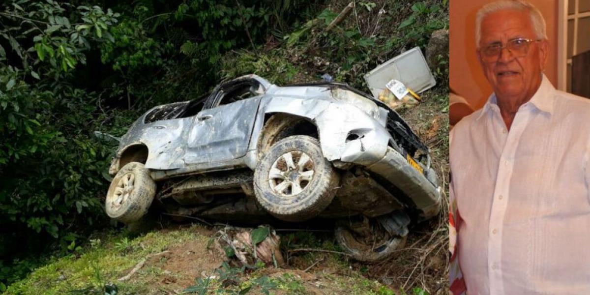 Carlos Aurelio Lacouture Dangond murió de un accidente en la Sierra Nevada, a sus 80 años.