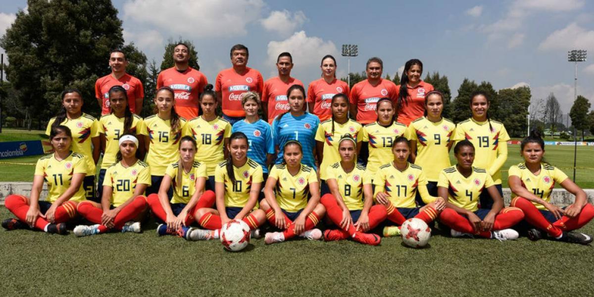 Selección Colombia femenina de mayores.