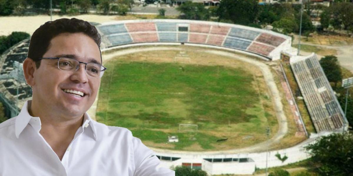 Rafael Martínez reaccionó a la posibilidad de que el Eduardo Santos sea patrimonio.