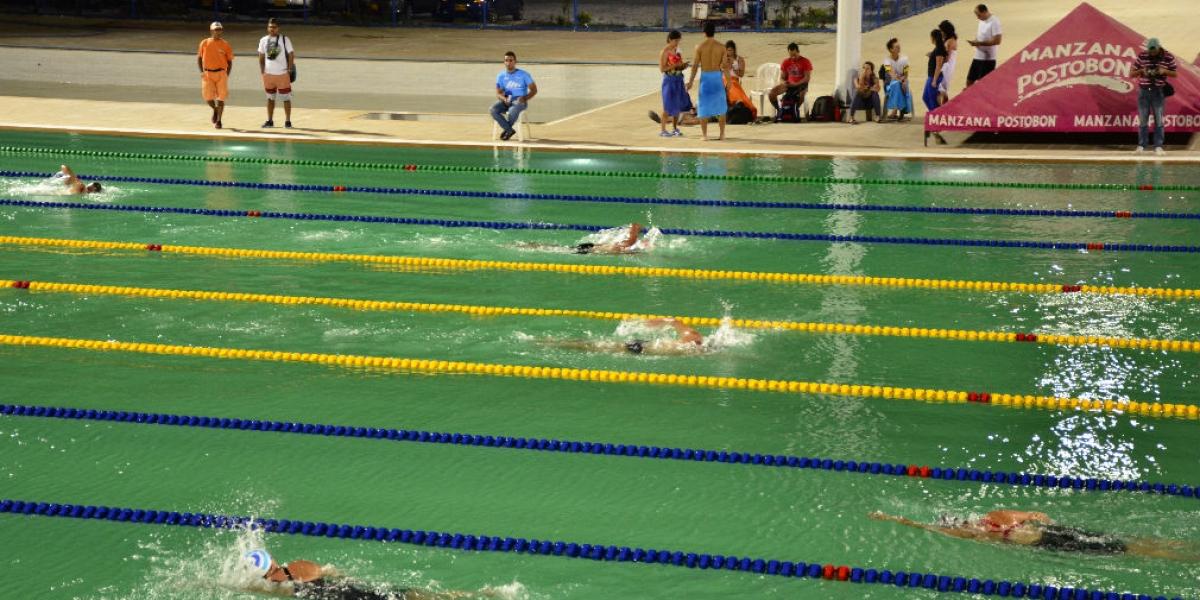 Estas piscinas fueron utilizadas para los Juegos Bolivarianos.