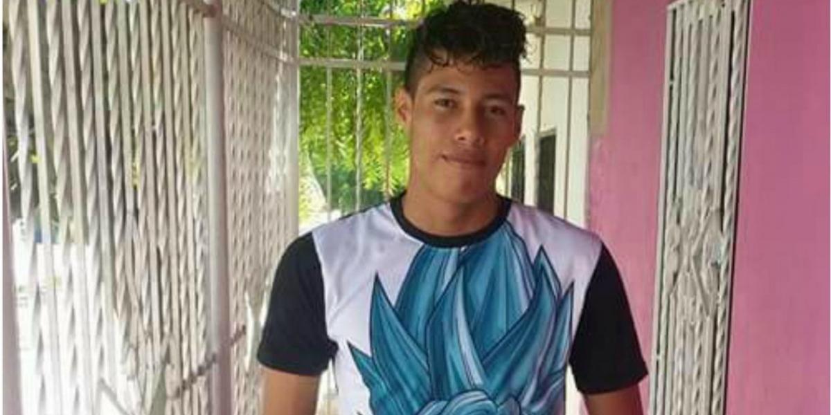 Royner Alexánder Ferrer Castillo, joven fallecido por inmersión.