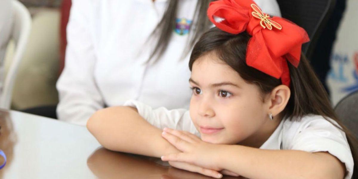 Este encuentro busca brindar un espacio de esparcimiento a los niños y niñas del departamento a través de esta estrategia.