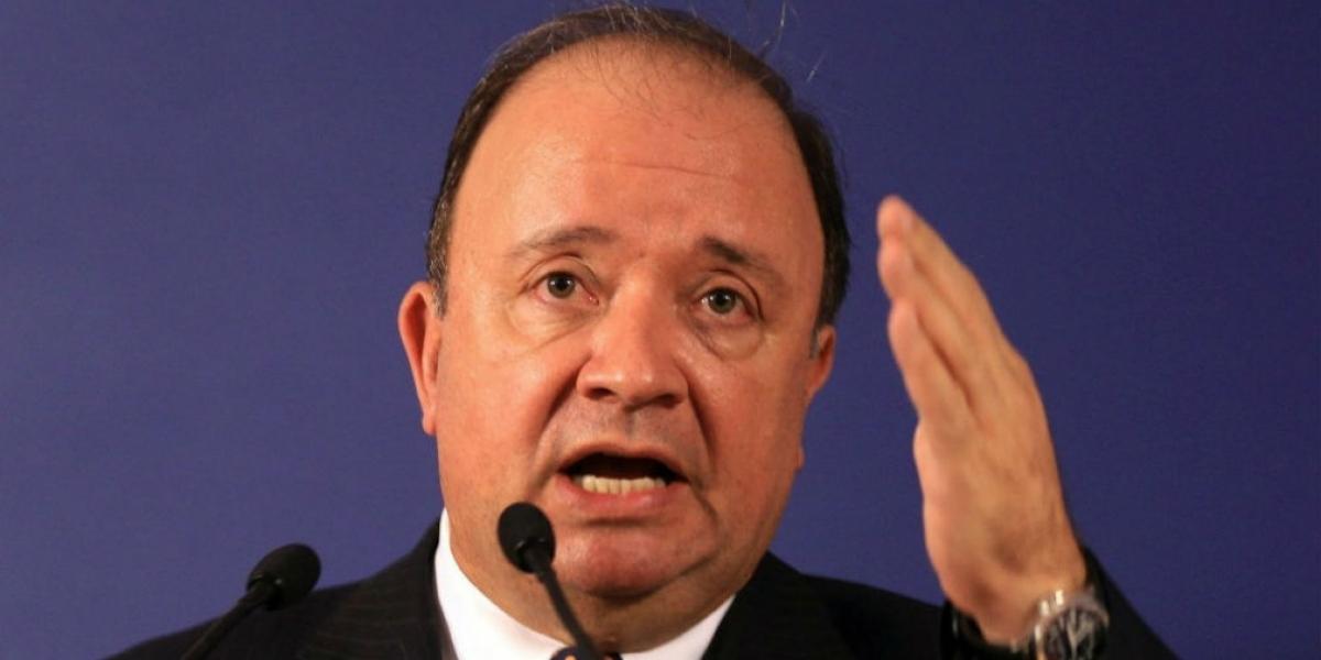El ministro de Defensa, Luis Carlos Villegas.