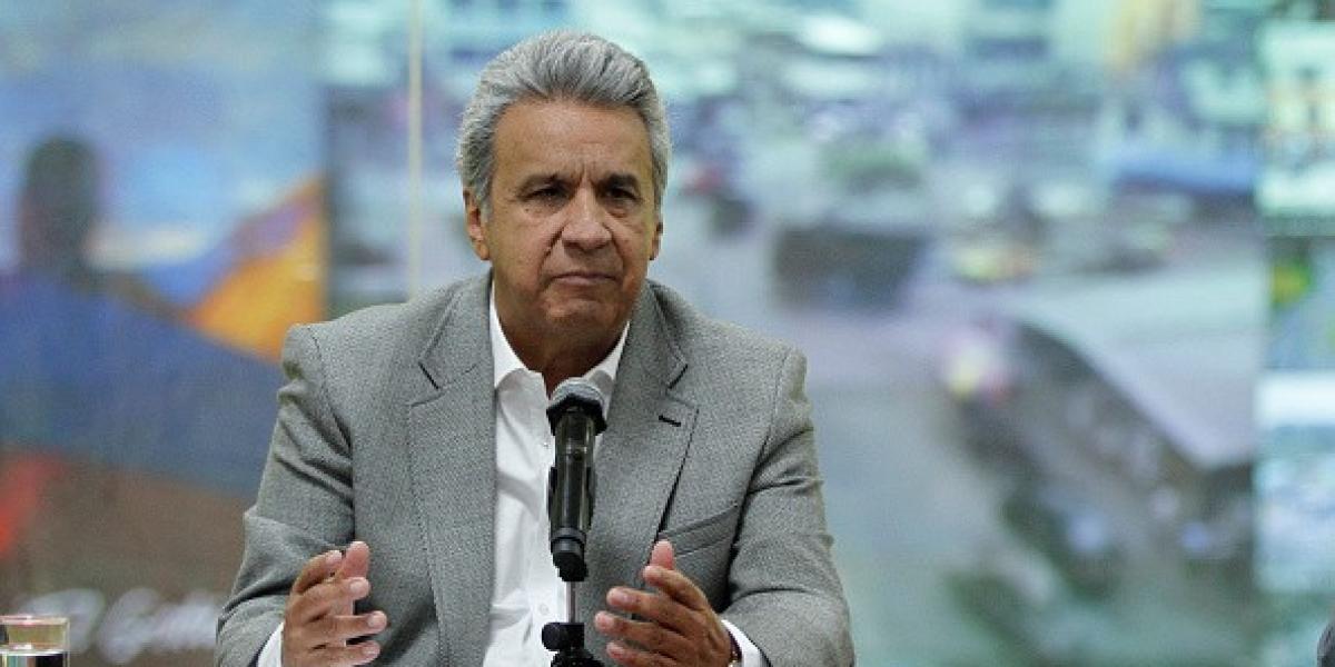 Lenin Moreno, presidente de Ecuador.