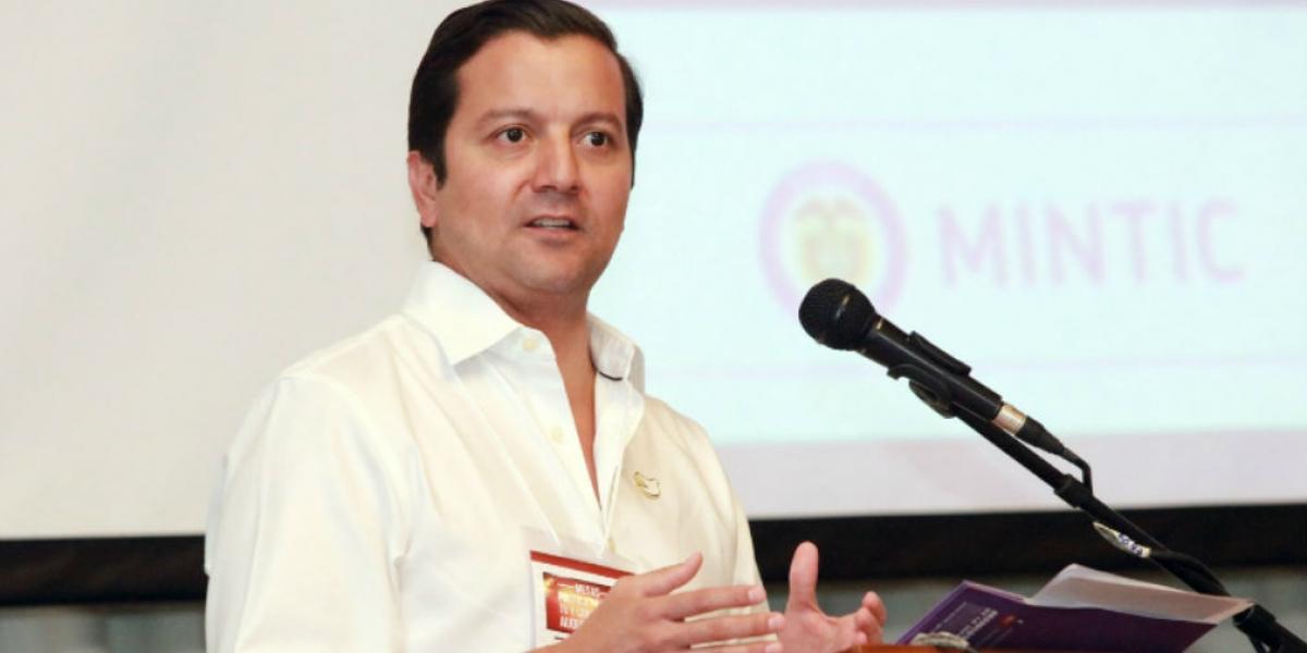 David Luna, exministro de las Tic.