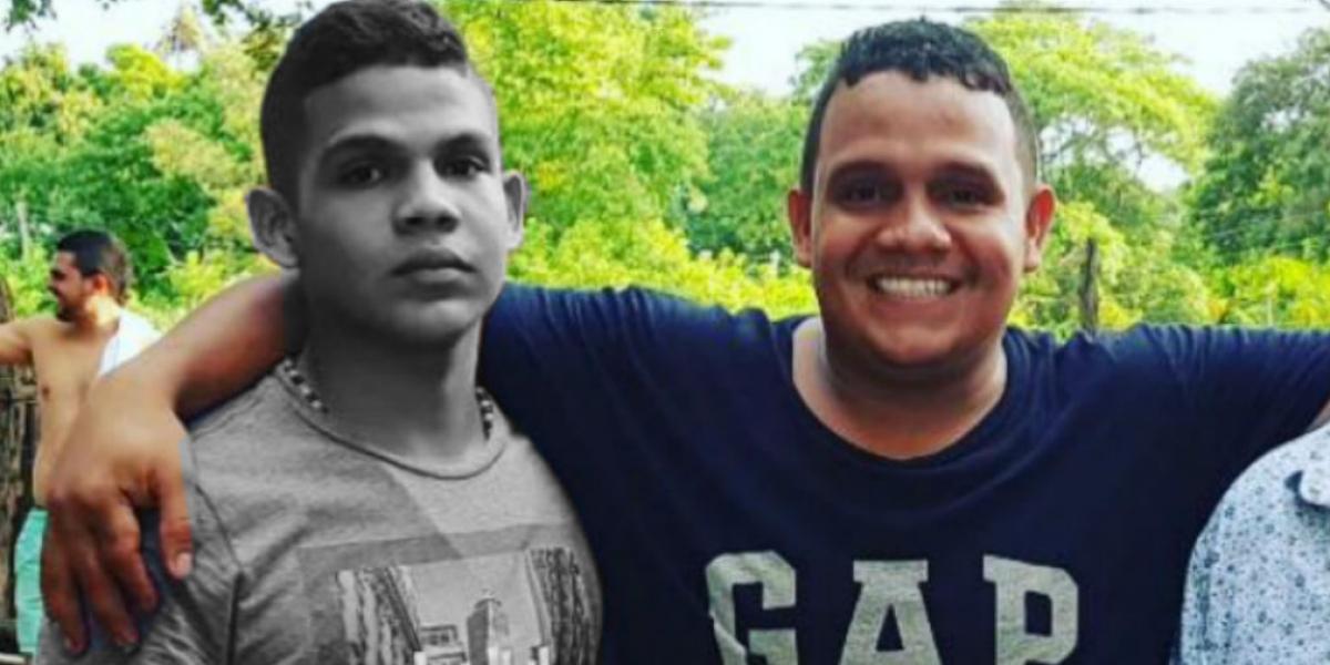 Brayan Andrés Páez y Jhon Páez.