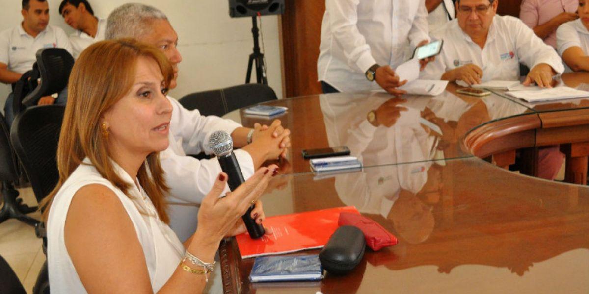 Griselda Janeth Restrepo Gallego, Ministra de Trabajo.