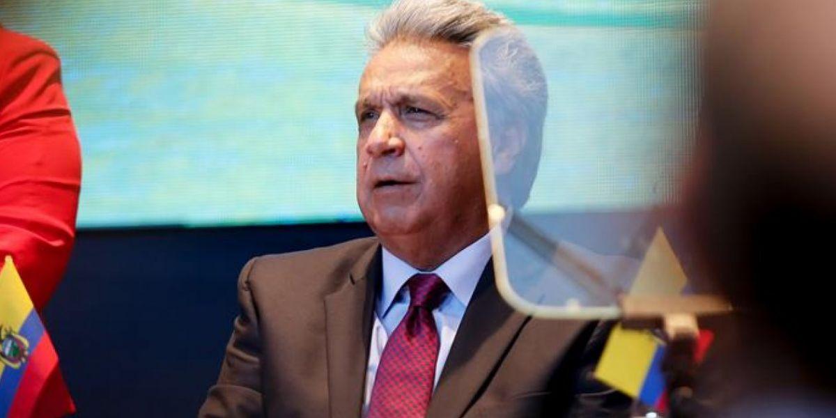 Lenín Moreno, presidente ecuatoriano.
