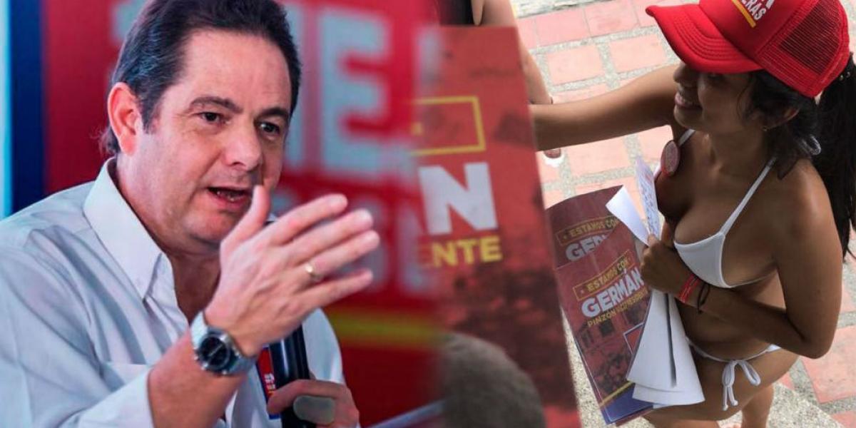 Germán Vargas Lleras se pronunció por la campaña de las mujeres en bikini.