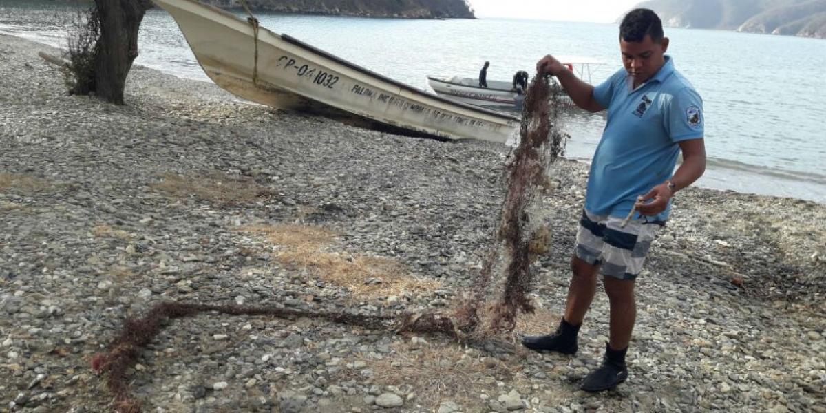Limpieza realizada en Bahía Gairaca.