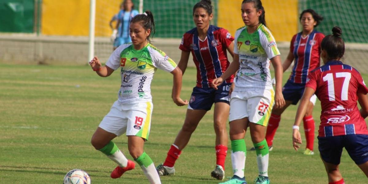 Atlético Huila venció al Unión Magdalena femenino en la ida de los cuartos de final de la Liga Águila.