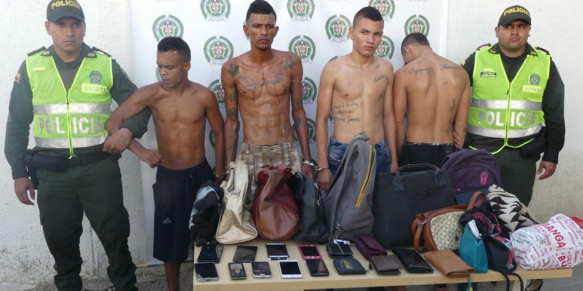 'Los Mochileros', banda dedicada al hurto de busetas en Santa Marta.