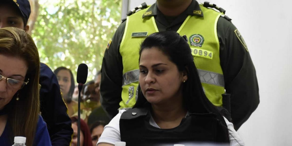 Dayana Jassir, investigada por el homicidio de su esposo Eduardo Pinto.