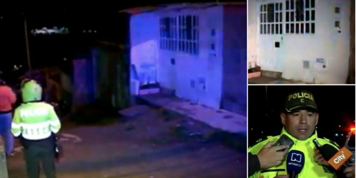 La Policía llegó a la residencia y encontró a herida a la mujer, que falleció cuando era llevada a un hospital.