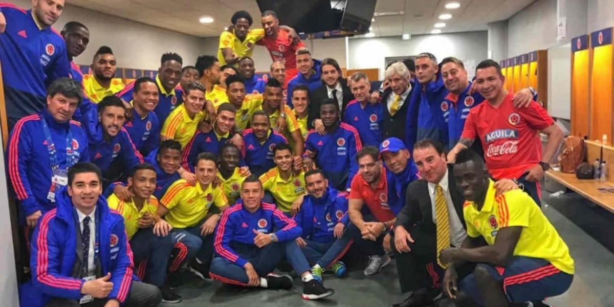 La Selección Colombia aparece en la casilla 16 de la clasificación mundial de la FIFA.