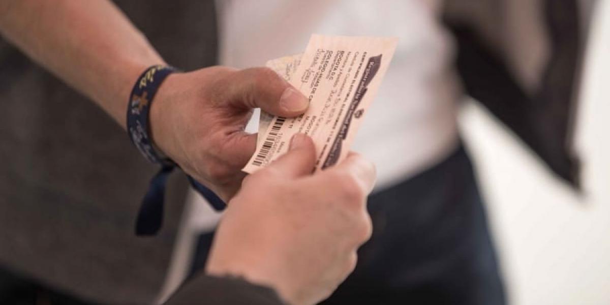 certificado electoral.