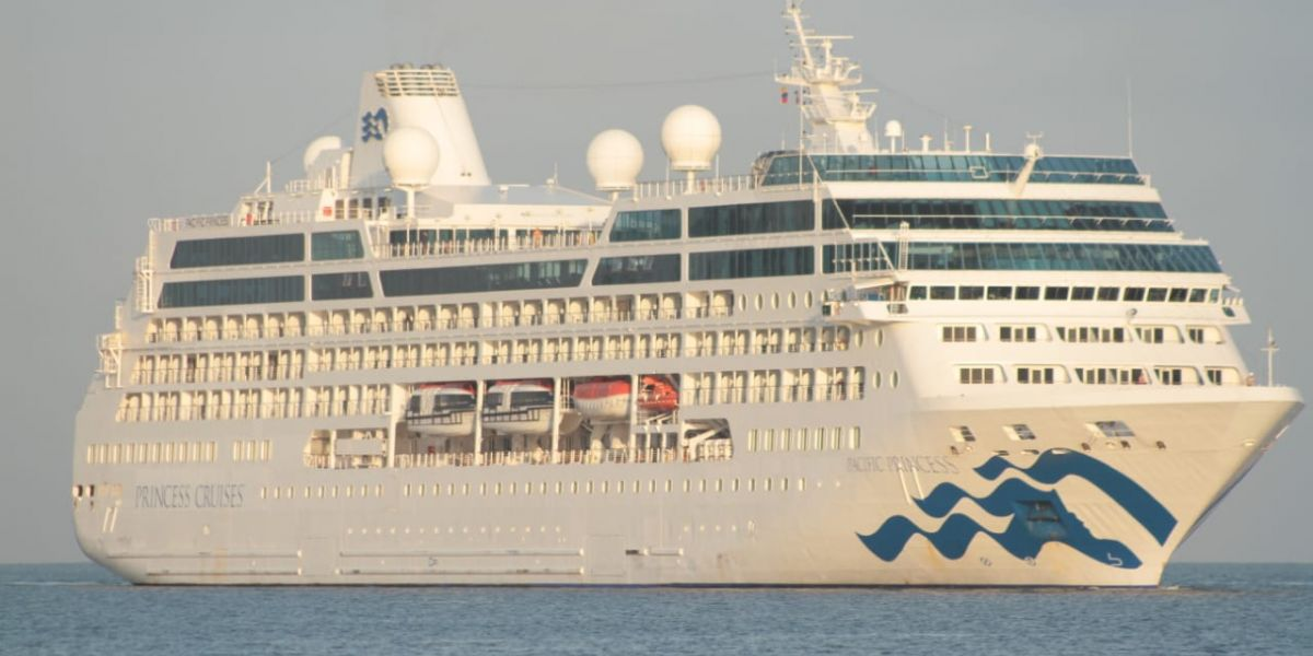 Crucero Pacific Princess.